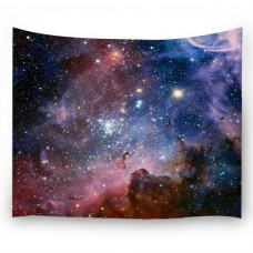 """Goodbath Space Wall Tapestry, Universe Galaxy and Star in Outer Space Wall Hanging for Living Room Bedroom Dorm, 80"""" x 60"""", Colorful"""
